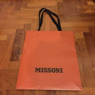 Missoni Paper bag