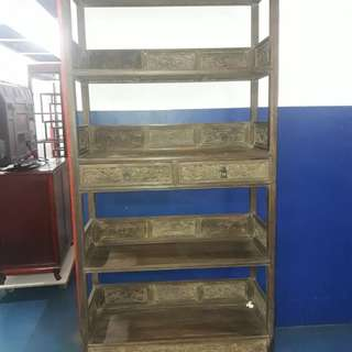 Antique book shelf