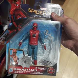 Marvel spiderman homecoming- spider man honemade suit