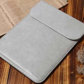 Korea Ultra Slim Naked Leather MacBook Laptop Computer Sleeve Case