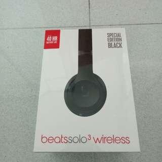Beats Solo 3 Wireless with receipt, BNIB