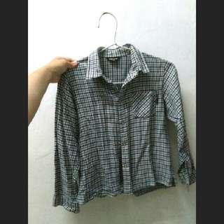 Blue Flanel Shirt