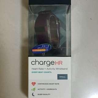 Fitbit Charge HR 多功能運動手環(測心跳步數) Plum 紫色 Size S