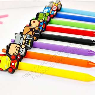FREE MAILING DC Comics / Marvel Heroes Cartoon Pen