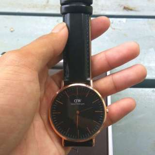 Daniel Wellington Black Sheffield Rose Gold Classic 40mm
