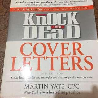Knock em dead cover letter