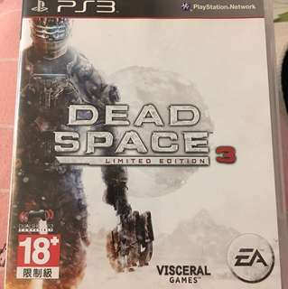 PS3 Dead Space Limited edition