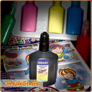 DIY Glass Deco Stickers Outliner Pen