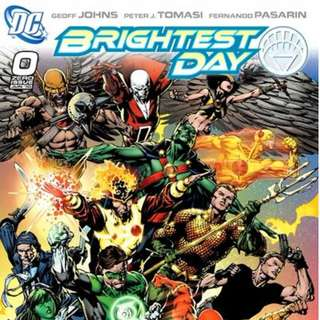 Brightest Day #0-4, 6-24