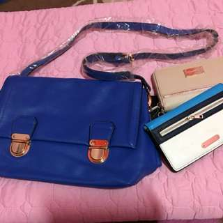 New item bag and purse new look