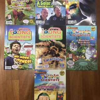 Young scientist 2017 mix brand new books