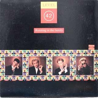 Level 42 Vinyl LP, used, 12-inch original pressing