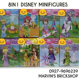 For Sale Disney Princess 8in1 Minifigures