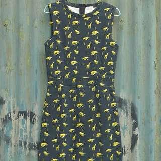 Mini Dress Black Gaudi