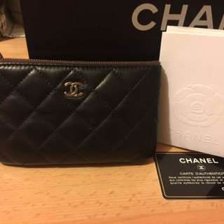 Chanel coins bag/card holder