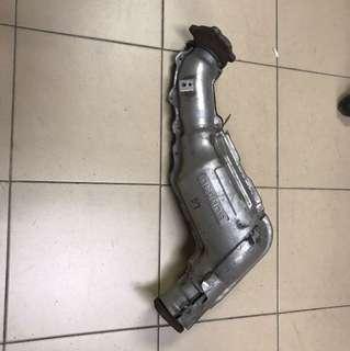 Subaru WRX Original single scroll down pipe