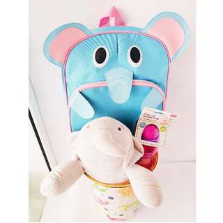 Elephant Big Sister Gift Basket