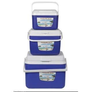 3-in-1 Cooler Box (Blue and orange)