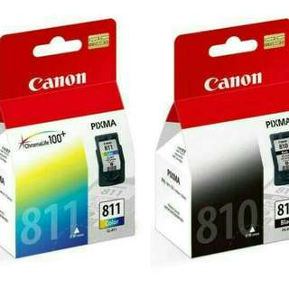 Tinta CANON SET 810/811 ORIGINAL