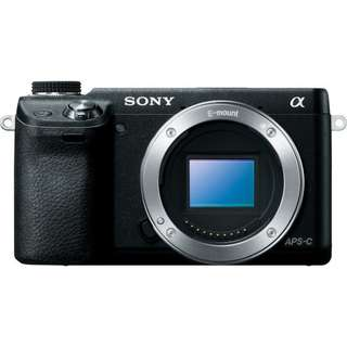 Sony NEX 6 with SEL 18-105mm f/4 G and other accessories