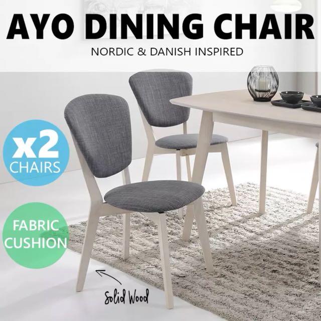 1x Grey Study Chair