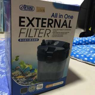 External filter for fish tank