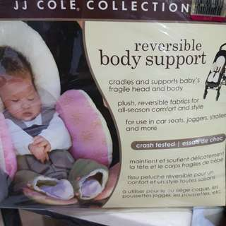 JJ cole reversible body support (pink)