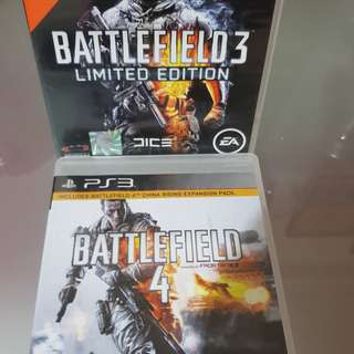 PS3 Game Battlefield