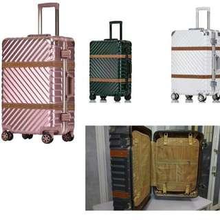 20 吋皮帶合金行李箱 Belt Alloy Suitcase