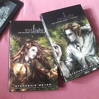 Twilight Vol 1 & 2 Graphic Novels