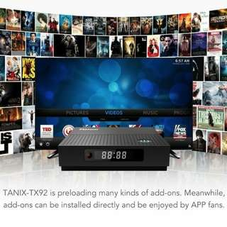 8 core 4k Android TV Box Tx92