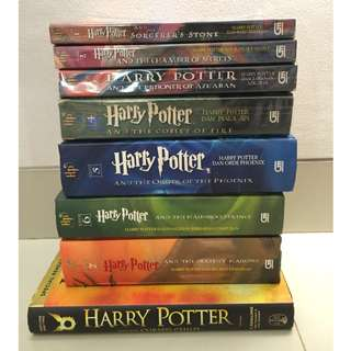 Novel Harry Potter fullset 1-7