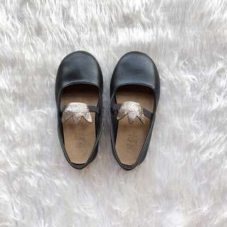 Zara Baby Mary Janes Shoes - Black (Size 21)