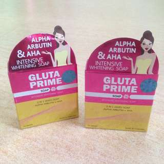 Gluta Prime Intensive Whitening Soap