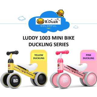 LUDDY Mini Balance Bike Walker Tricycle Series FREE Shippng + FREE 6 Month Warranty