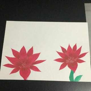 Lotus Watercolur Painting