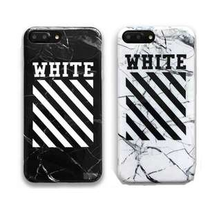 Off White iPhone X Case iPhone 8 7 6 Plus Fashion Off-White