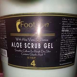ALOE SCRUB GEL (FOOT)