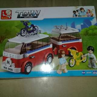 Building Toys (Car and Bike)