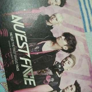 Nuest 1st Single - Face