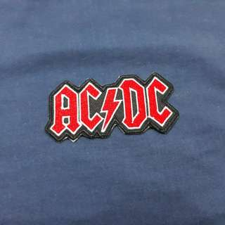 ACDC Iron-on Clothing Patch