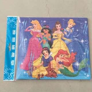 BNIP Disney Princess Children Simple Jigsaw Puzzle