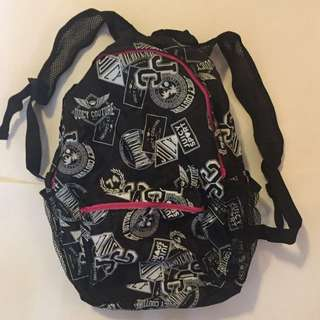 Juicy Couture Compact Backpack Foldable