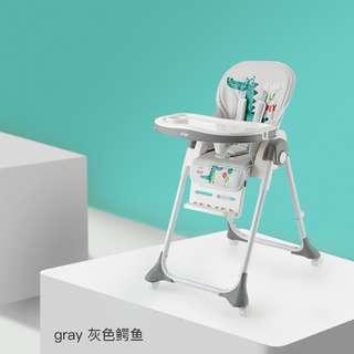 (GREY)Multi Purpos Baby High chair Feeding Chair ★ Baby Chair ★ Kids Study Table
