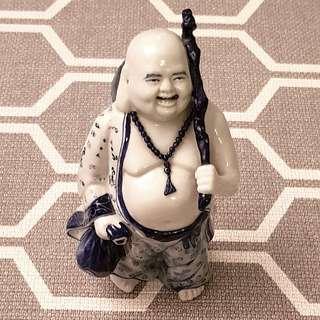 景德镇陶瓷 Antique Porcelain Laughing Buddha Jingdezhen