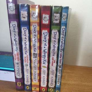 Diary Of A Wimpy Kid Books ( $24 for all books )