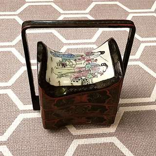 Antique Chinese Jewellery Box Sweet Box