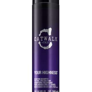 TIGI Catwalk Your Highness Volume Collection Elevating Shampoo 250ml