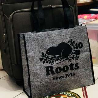 Roots 環保購物大袋