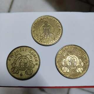 Wonder space antique token